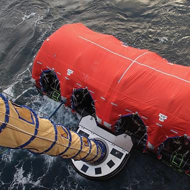 Offshore Mass Evacuation System