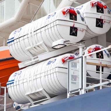 Marin Ark Over Capacity Liferaft